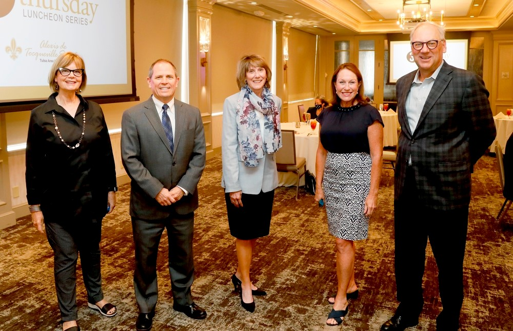 Pictured left to right are Karen Keith, Tim Lyons, Susan Neal, Alison Anthony, Mark Maun