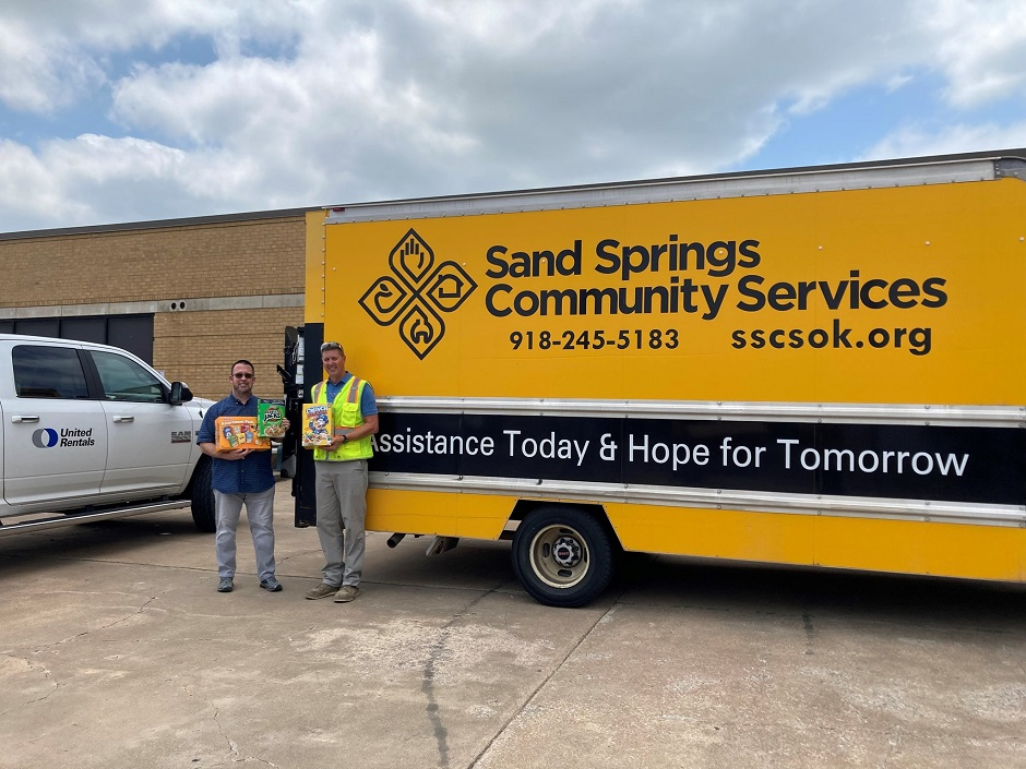 sand springs community services